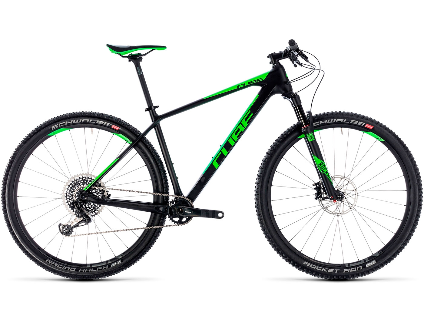 Велосипед CUBE REACTION C:62 Eagle 29 (2018)