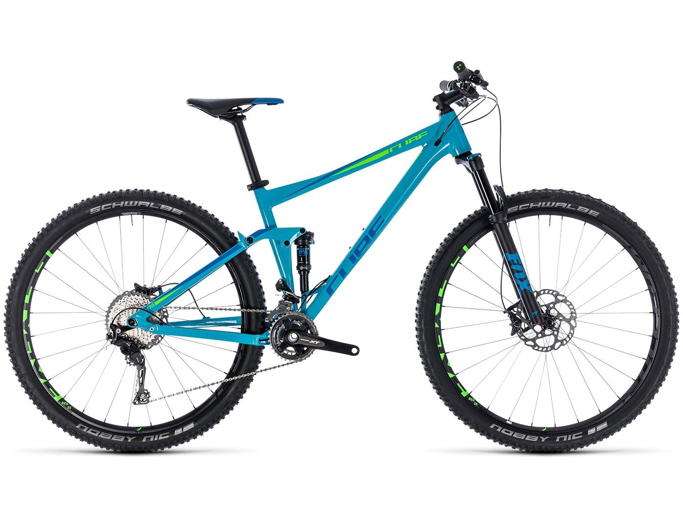 Велосипед CUBE STEREO 120 RACE 27.5 (2018)