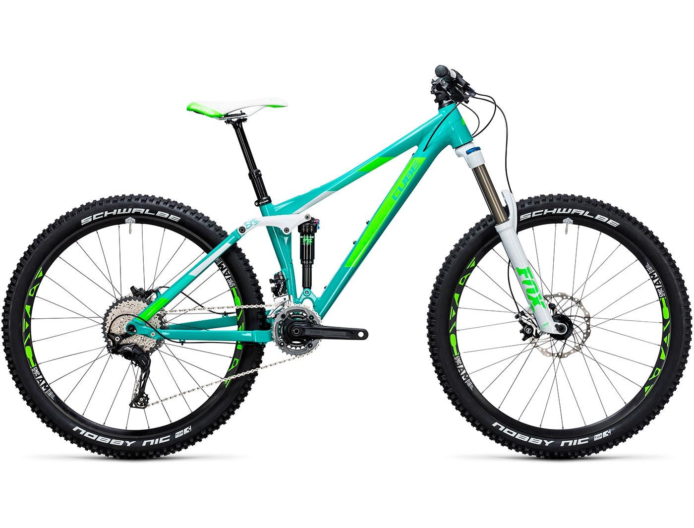 Велосипед CUBE Sting WLS 140 RACE 27.5 2X (2017)