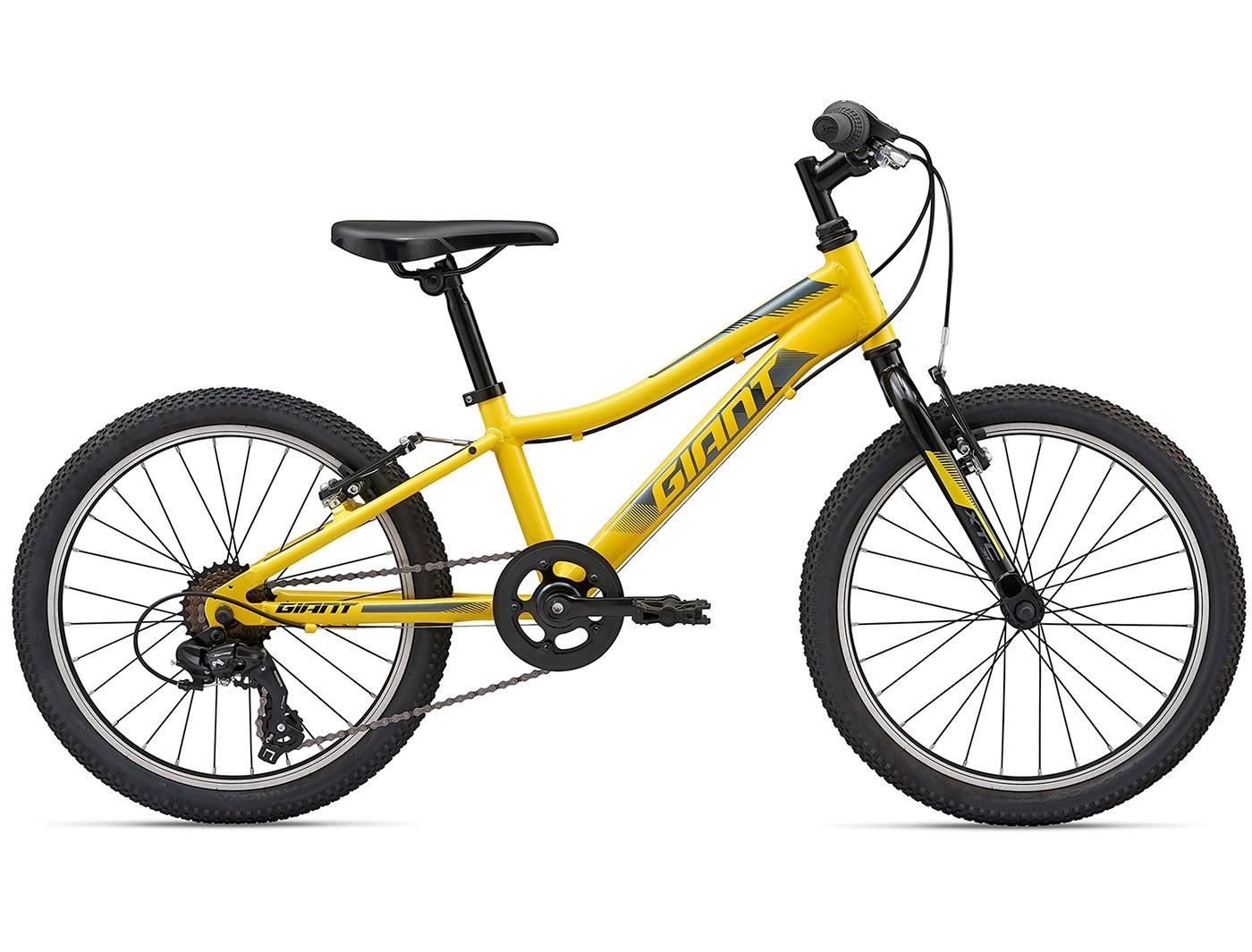 Велосипед Giant XtC Jr 20 Lite (2020) (Лимонный желтый)