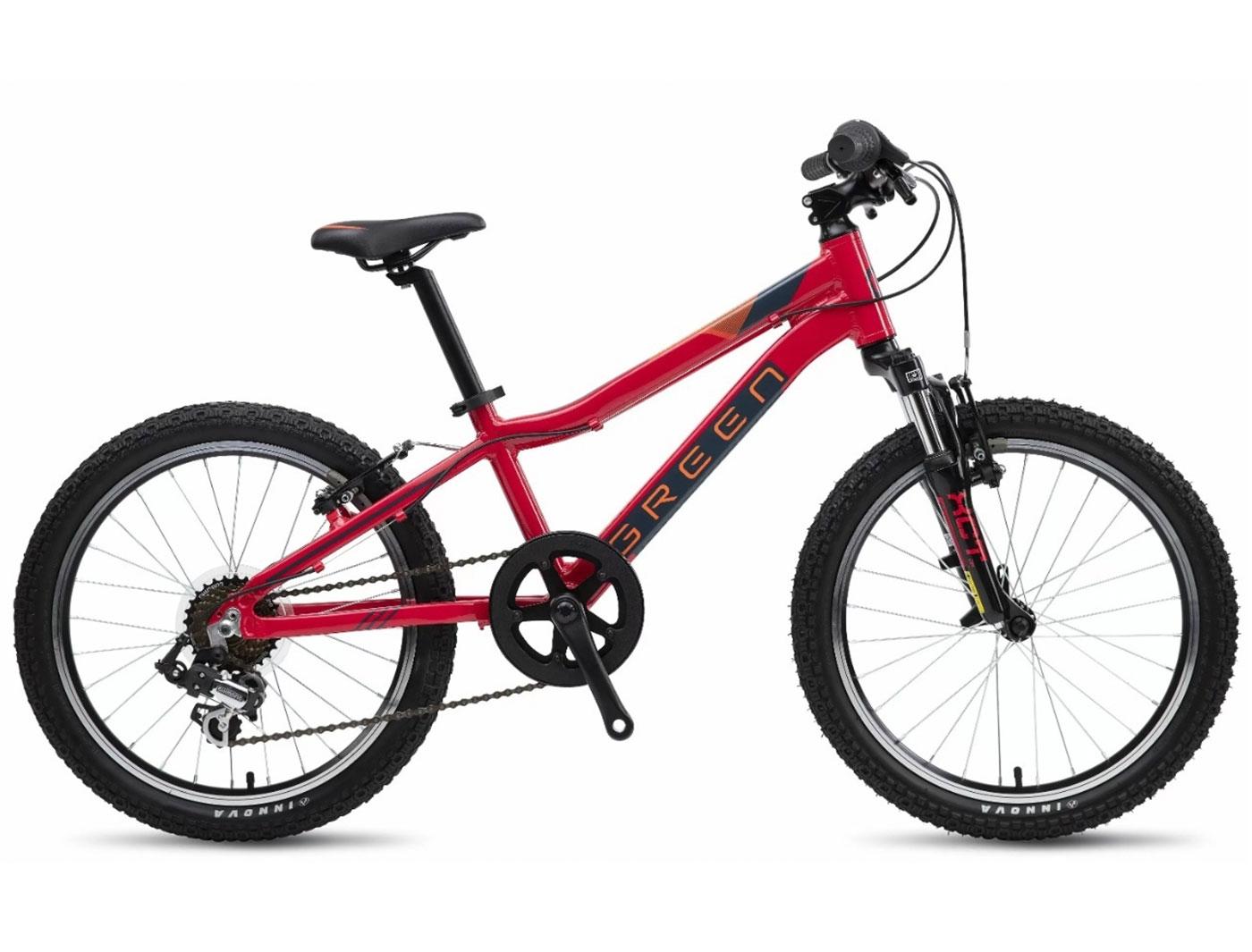 Велосипед GREEN Kids 20 (Красный) (2019)