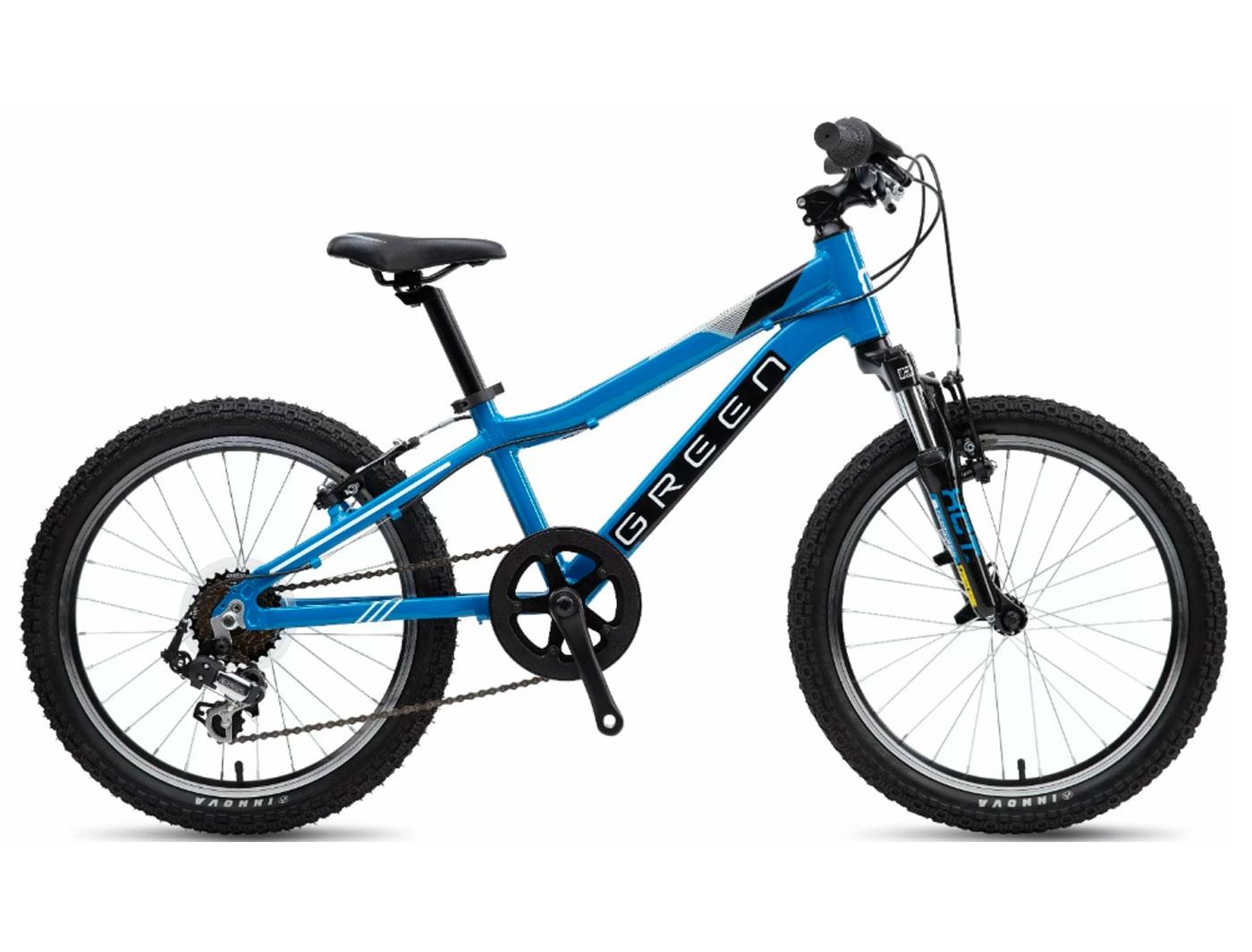 Велосипед GREEN Kids 20 (Синий) (2019)