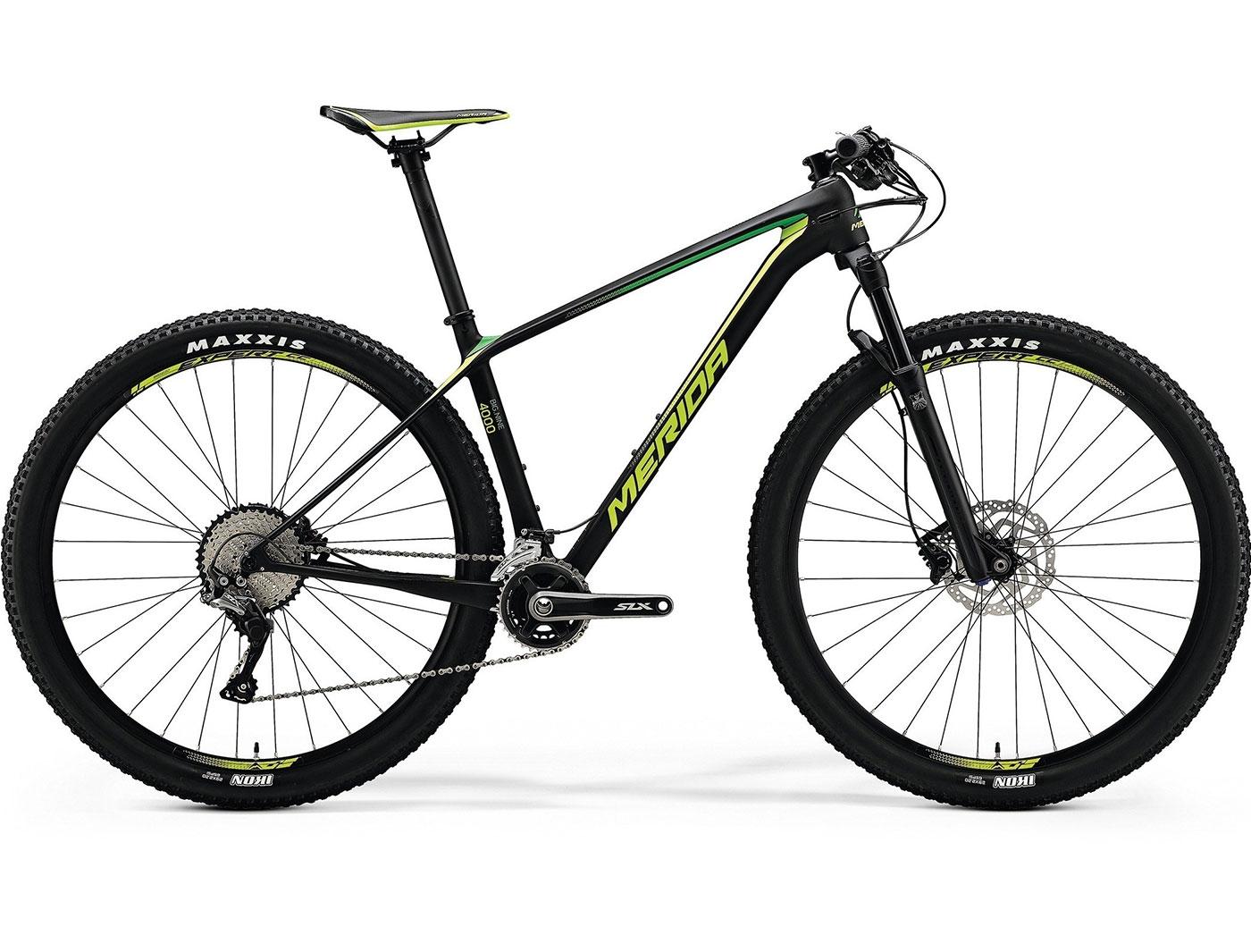 Велосипед Merida BIG.NINE 4000 (2018)