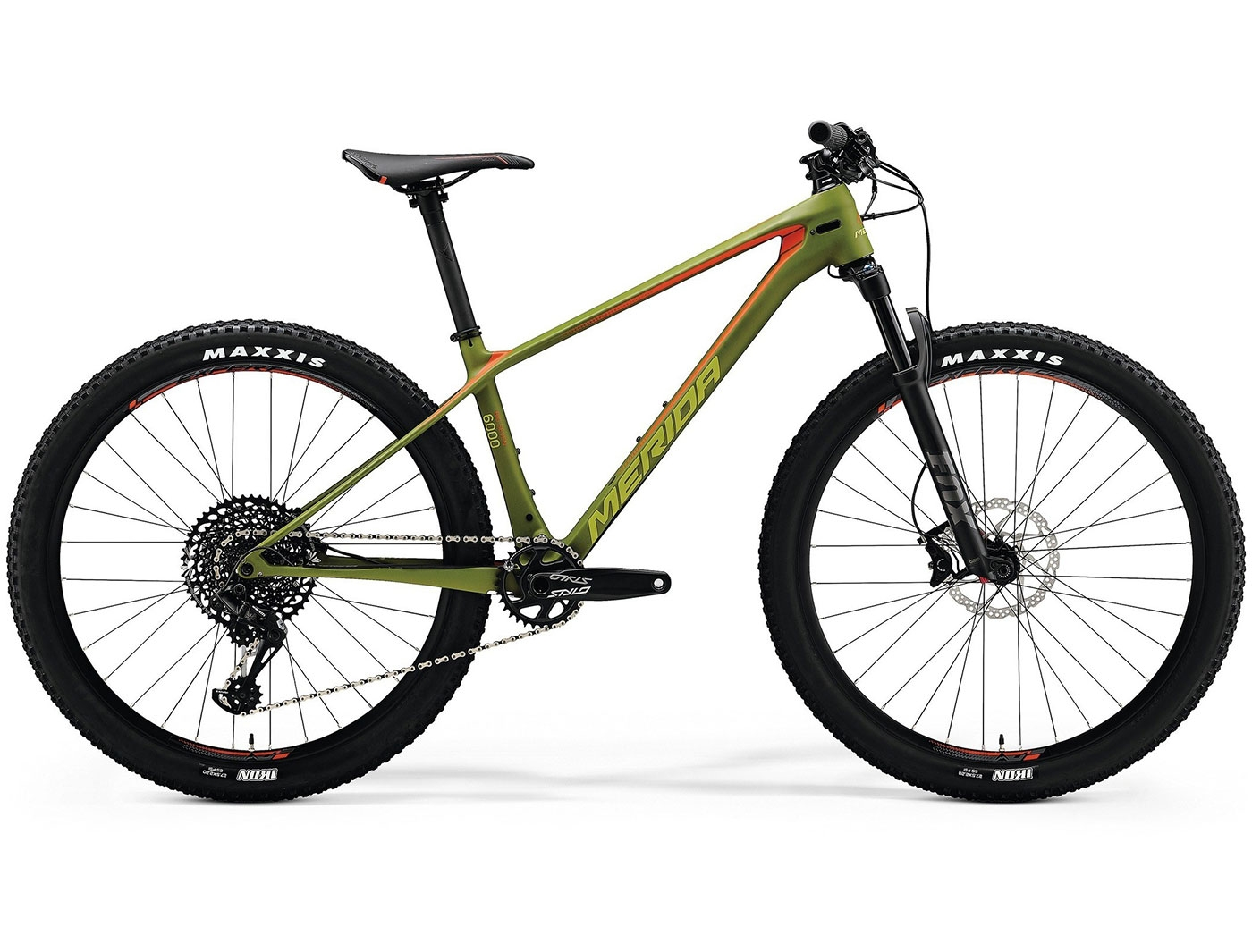 Велосипед Merida BIG.SEVEN 6000 (2018)
