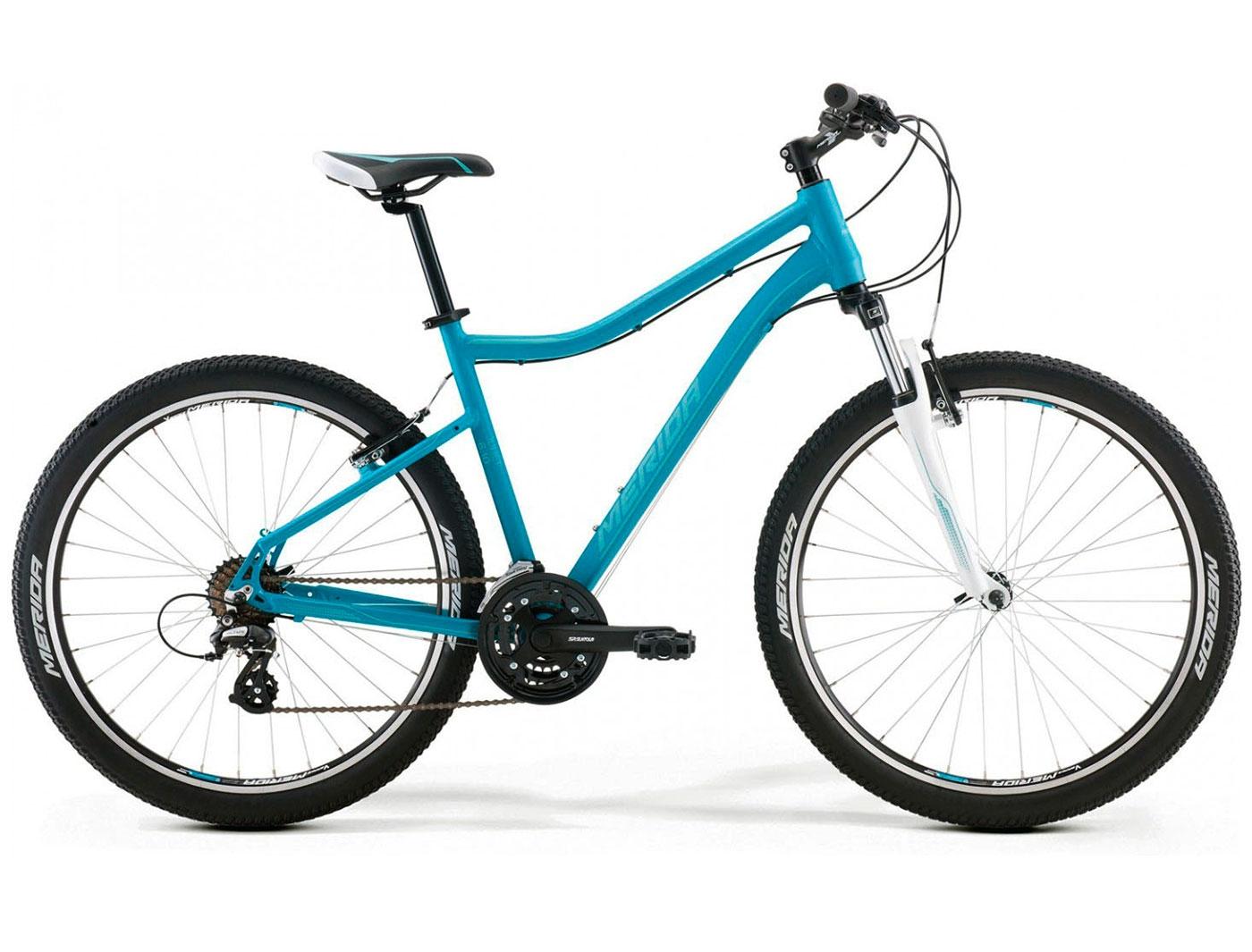 Велосипед Merida Juliet 6.10-V (Голубой) (2017)