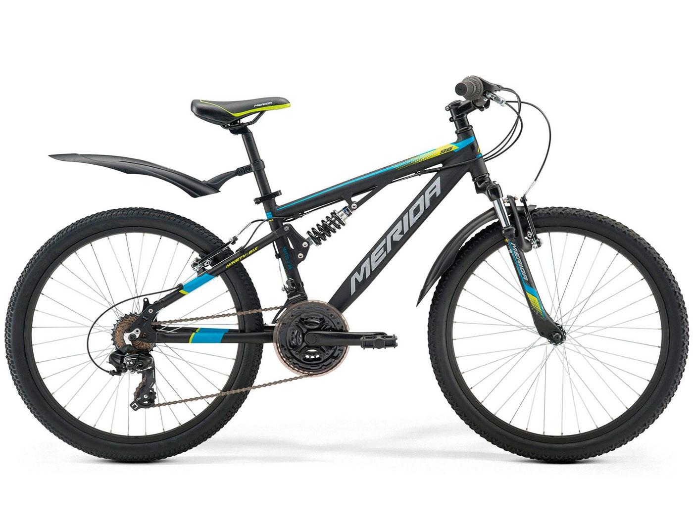 Велосипед Merida Matts J24 Ninety-Six Sus 24 (2017)