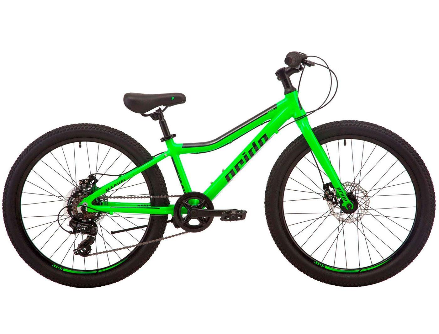 Велосипед 24 Pride MARVEL 4.1 (Зеленый) 2019