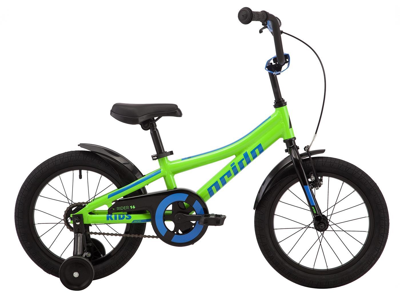 Велосипед Pride Rider 16 лайм (2019)