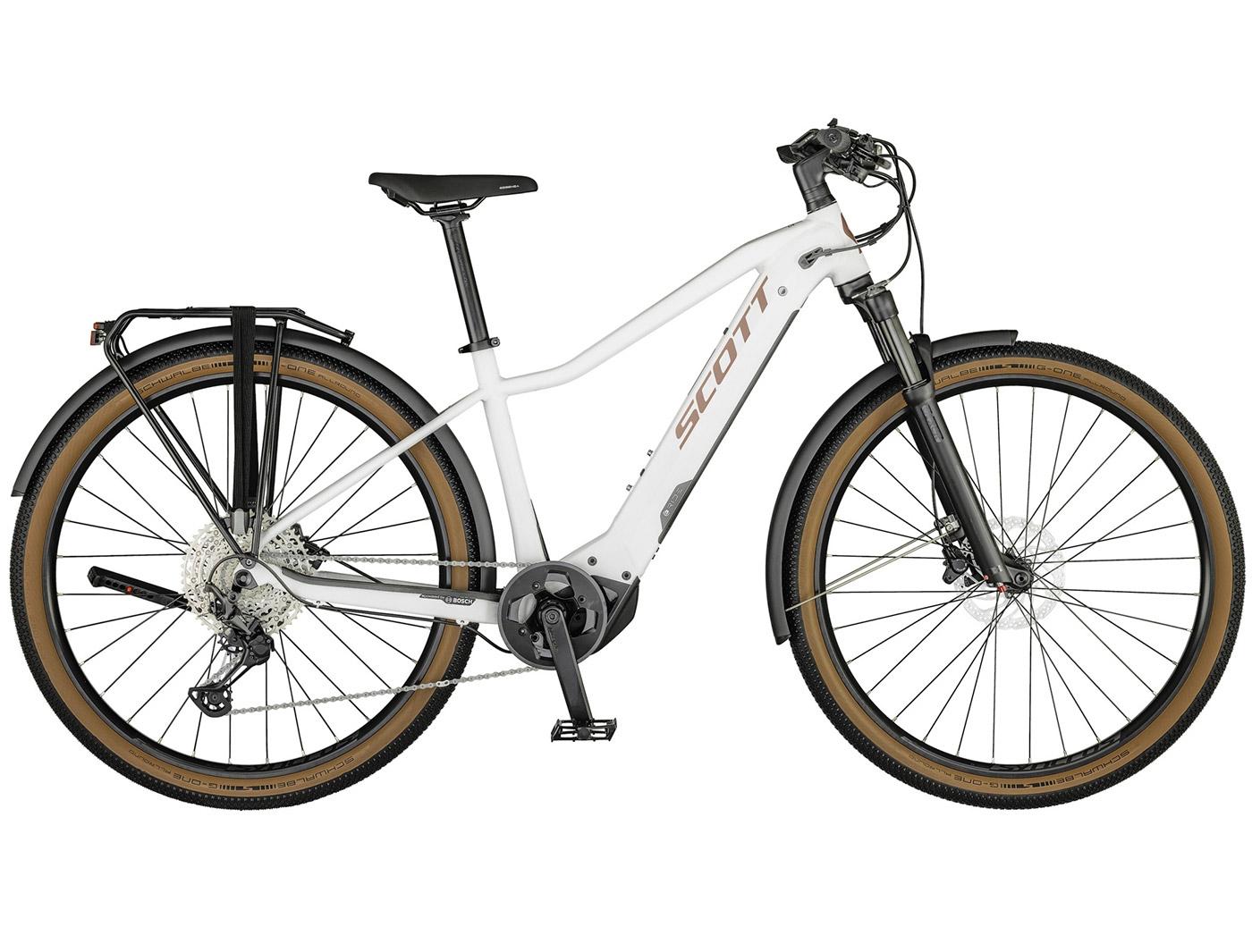 Велосипед Scott Axis eRIDE 10 Lady (2021)