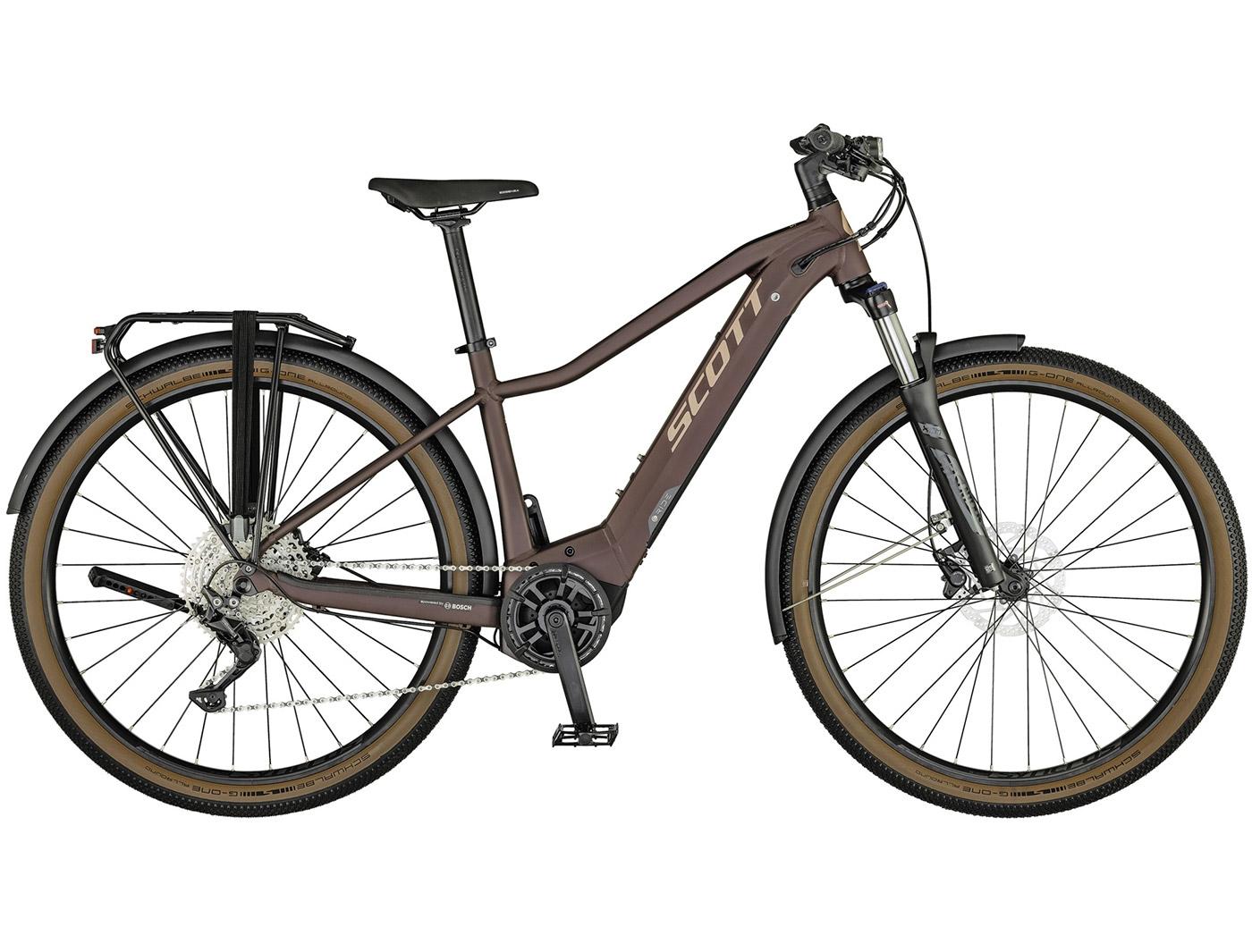 Велосипед Scott Axis eRIDE 20 Lady (2021)