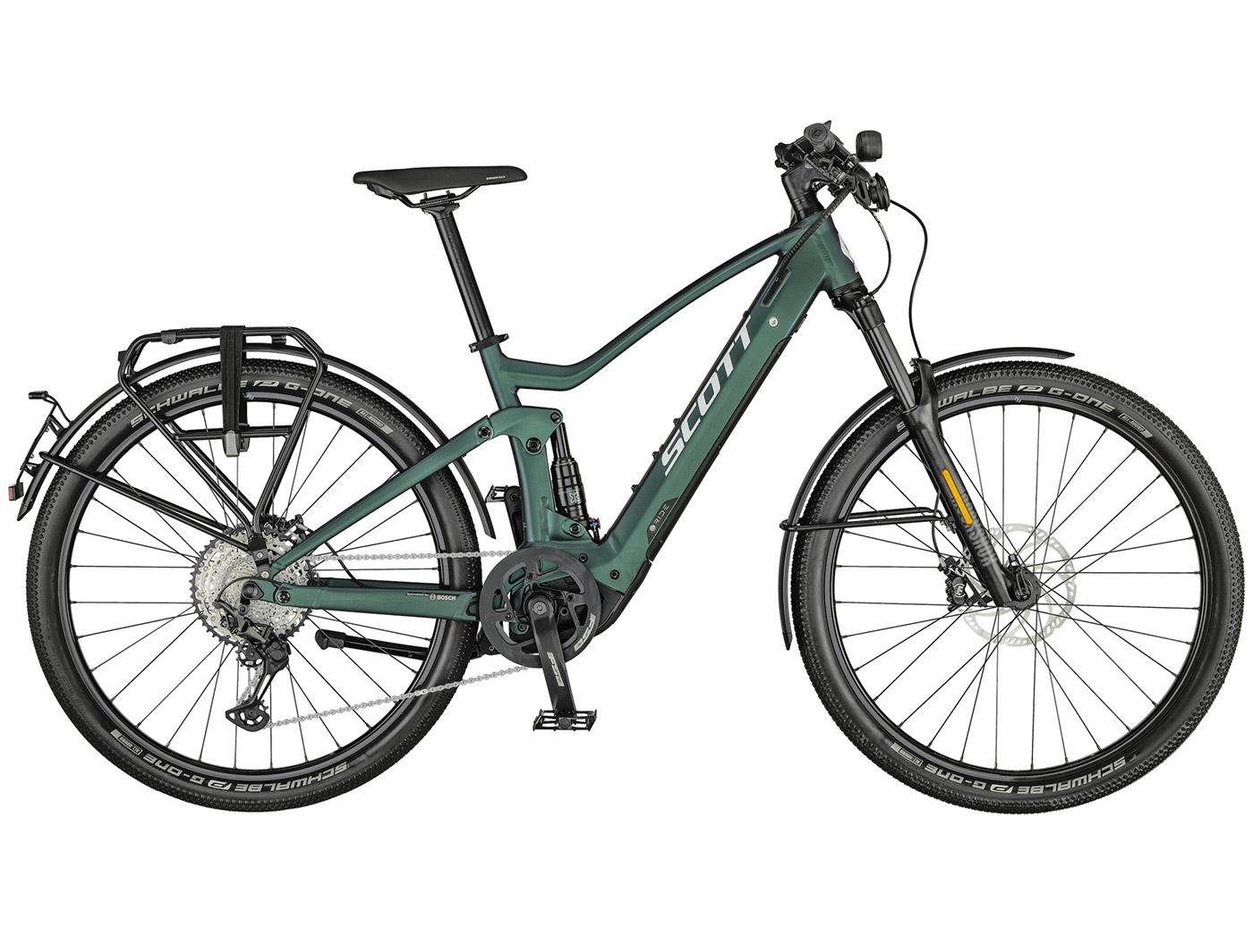 Велосипед Scott Axis eRIDE Evo Speed (2021)