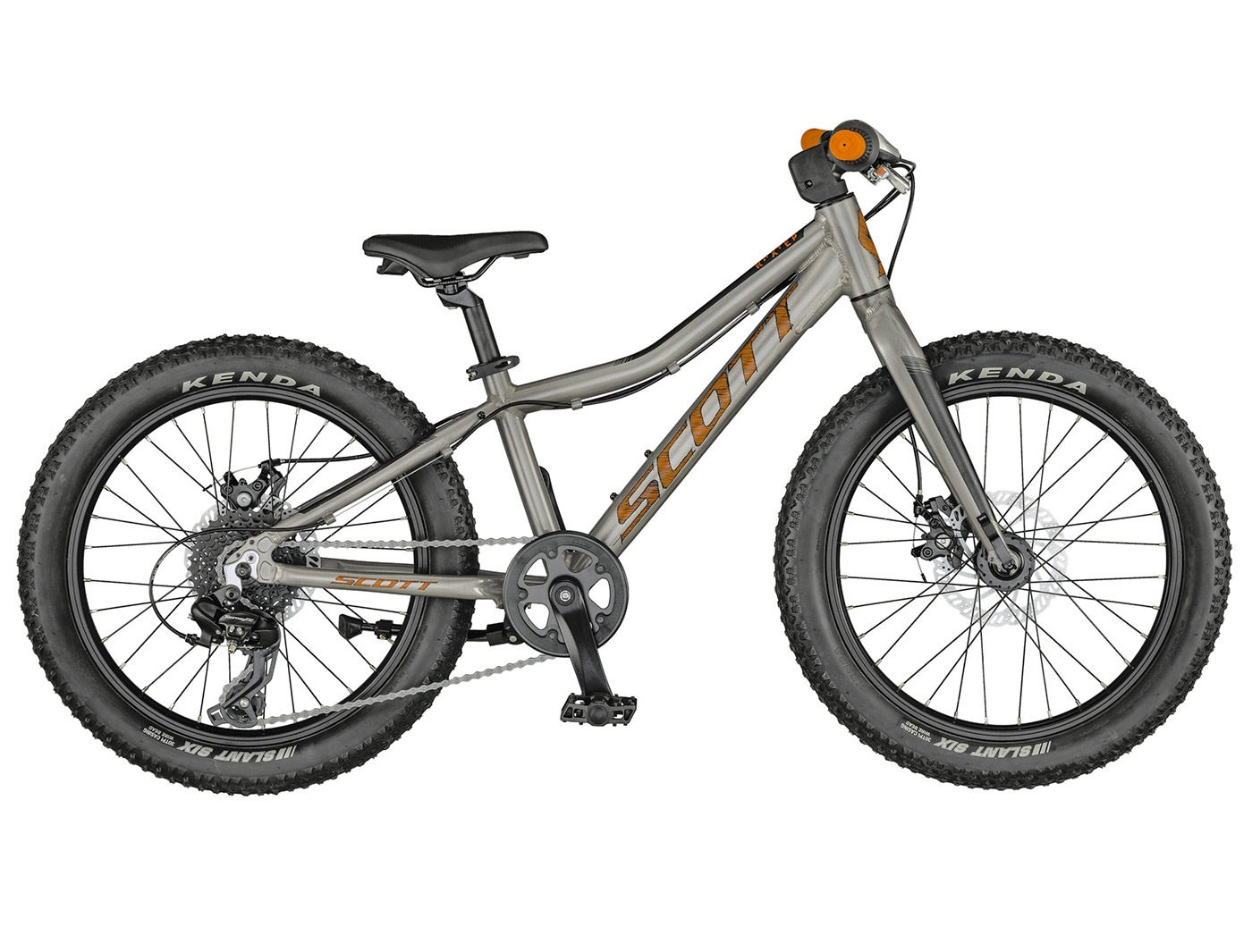 Велосипед Scott Roxter 20 raw alloy (2021)