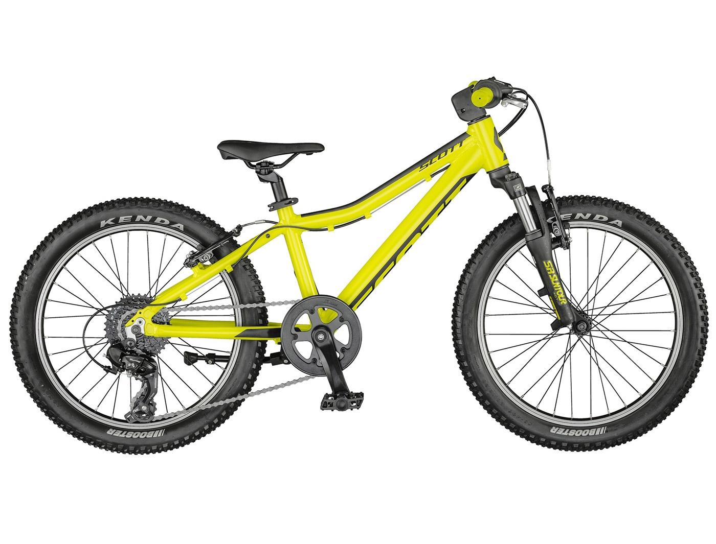 Велосипед Scott Scale 20 yellow (2021)