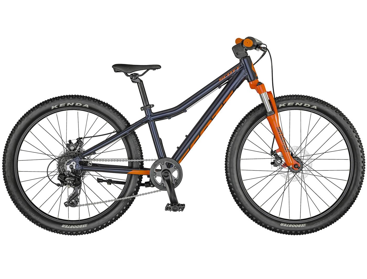 Велосипед Scott Scale 24 disc cobalt blue (2021)