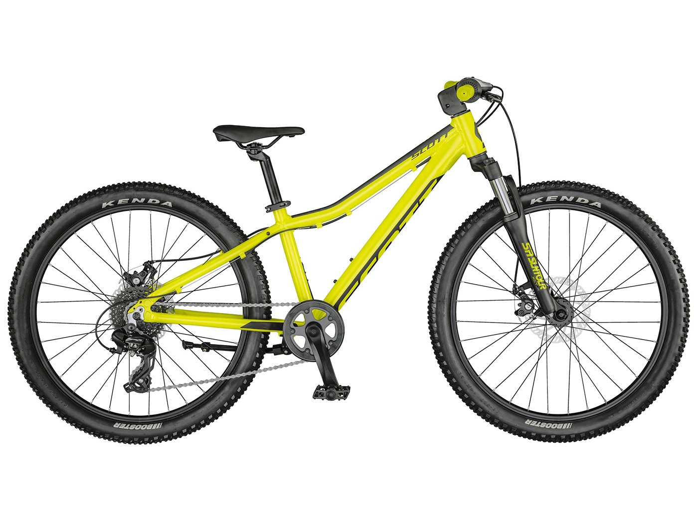 Велосипед Scott Scale 24 disc yellow (2021)