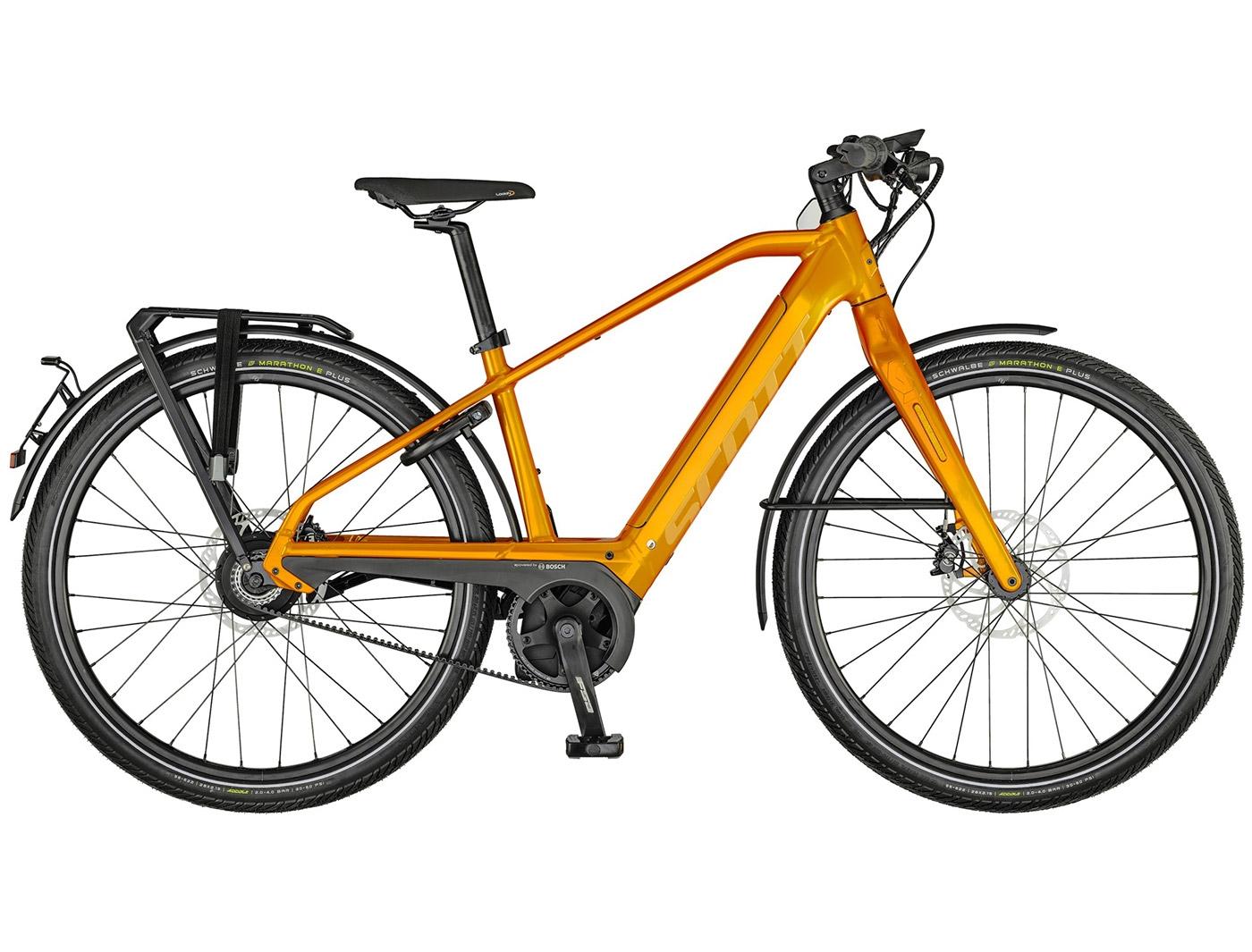 Велосипед Scott Silence eRIDE Evo Speed (2021)