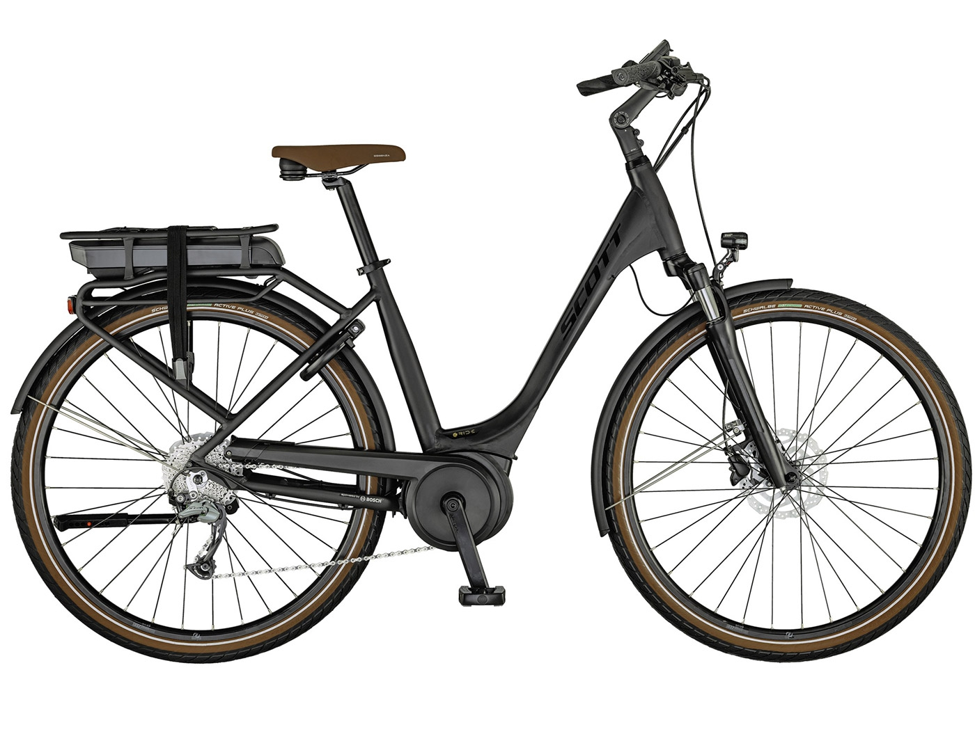 Велосипед Scott Sub Active eRIDE 10 USX rack (2021)