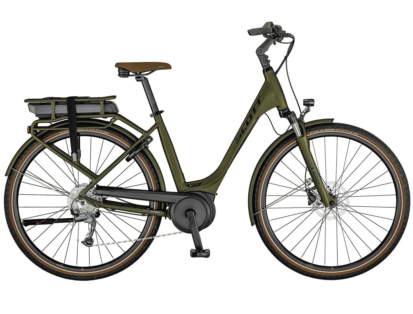 Велосипед Scott Sub Active eRIDE 20 USX rack (2021)