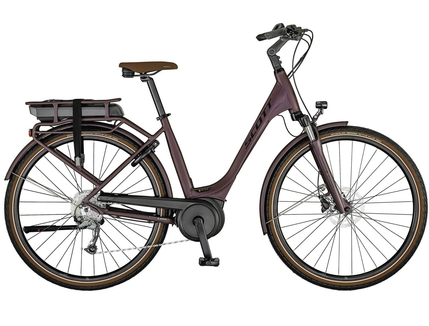 Велосипед Scott Sub Active eRIDE 30 USX rack (2021)