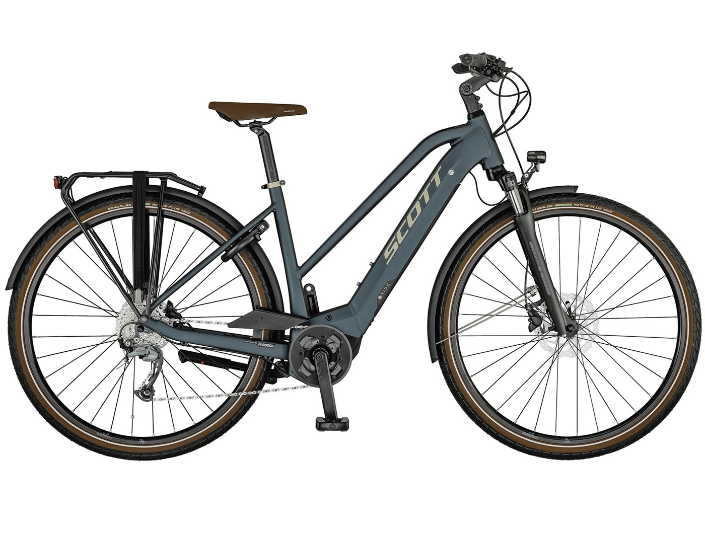 Велосипед Scott Sub Active eRIDE Lady (2021)