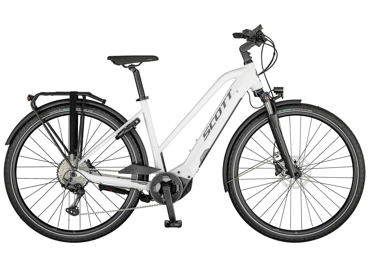 Велосипед Scott Sub Sport eRIDE 10 Lady (2021)