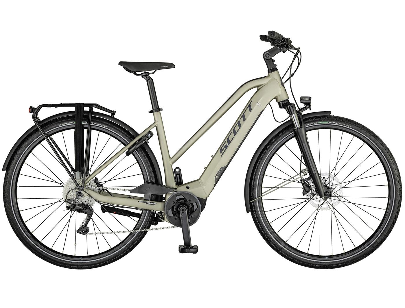 Велосипед Scott Sub Tour eRIDE 10 Lady (2021)