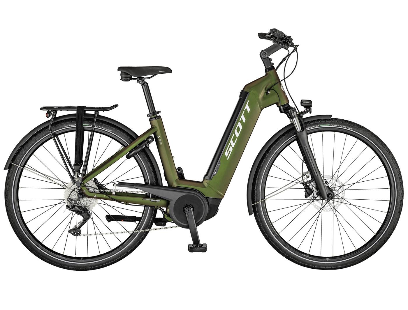Велосипед Scott Sub Tour eRIDE 10 USX (2021)