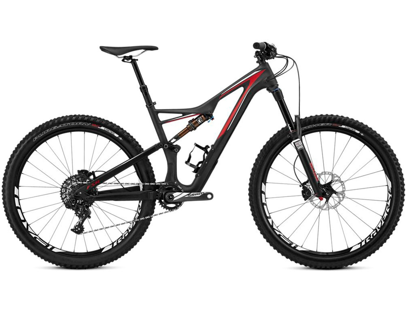 Велосипед Specialized Stumpjumper Fsr Expert Carbon 650B (2016)