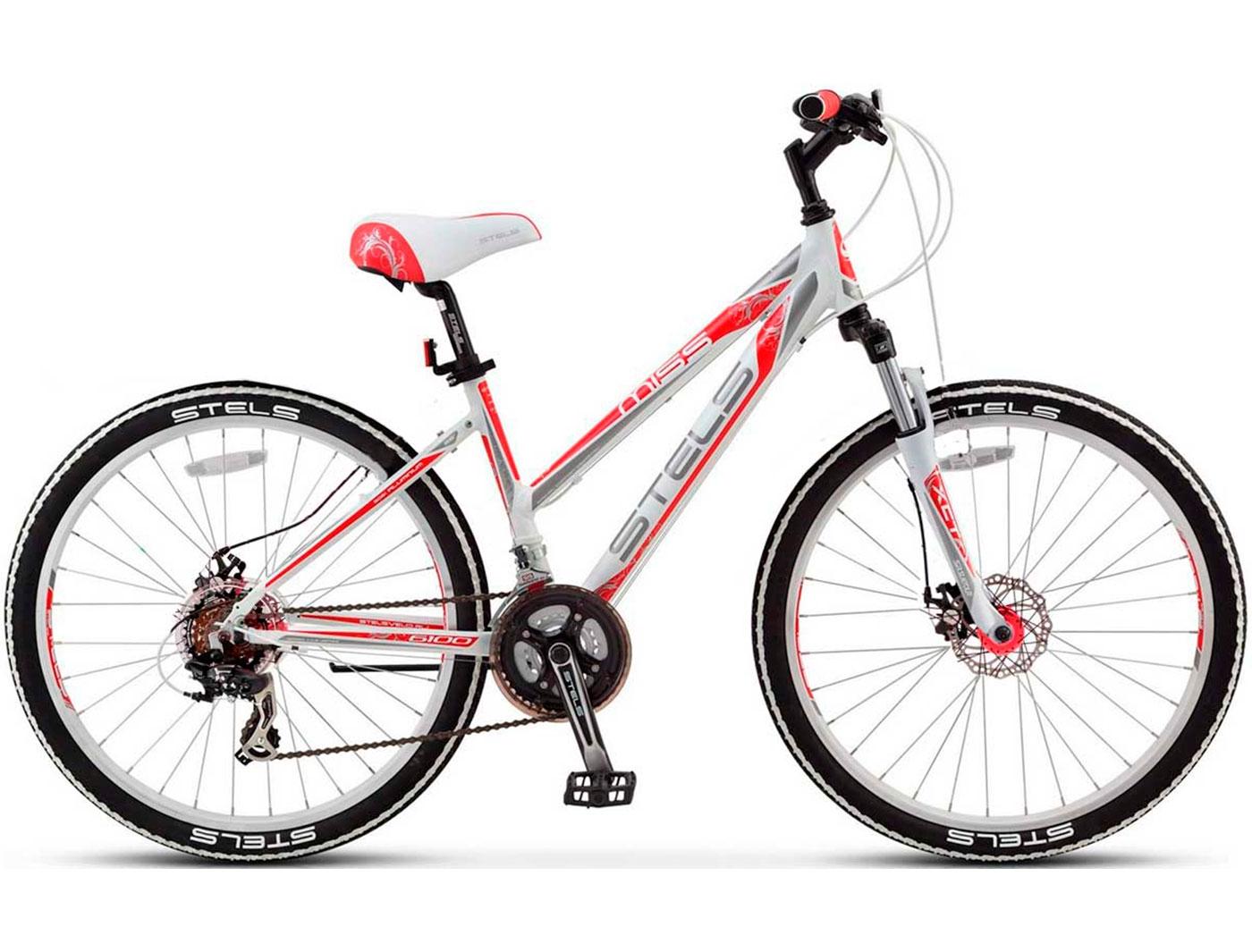 Велосипед STELS Miss-6100 MD (2017) (Красный)